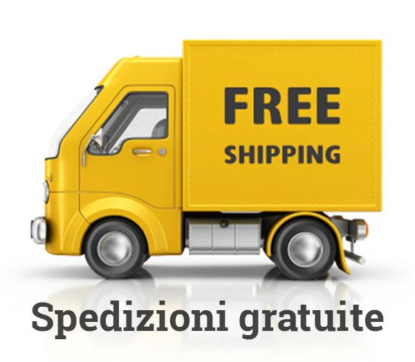 Spedizioni gratuite in tutta Italia